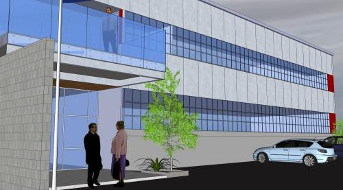Proposed Lower Hutt Commercial Building